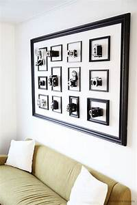 best 25 large frames ideas on pinterest decorate large With kitchen cabinets lowes with vintage camera wall art
