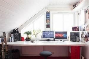 Büro Zu Hause Einrichten : praktisches b ro im dachgeschoss wer arbeitet von zu hause aus ~ Markanthonyermac.com Haus und Dekorationen
