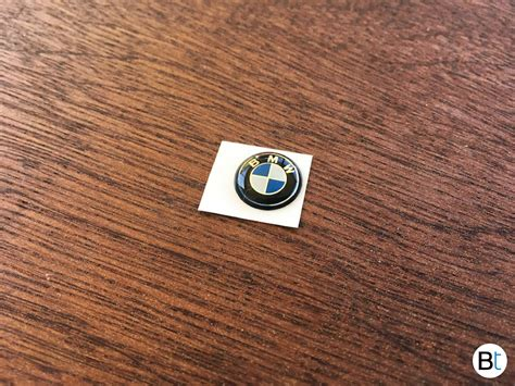 Bmw Key Fob Emblem  Roundel Replacement Bimmertipscom
