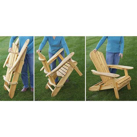 castlecreek folding wood adirondack rocking chair 232380