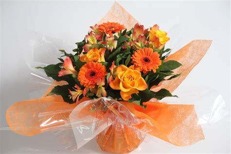 pianta fiori arancio bouquet arancio masciandaro fiori e piante