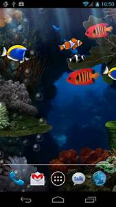 Aquarium live wallpaper for Android. Aquarium free ...