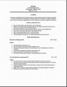 cashier job description resume resume template pinterest With cashier job description resume