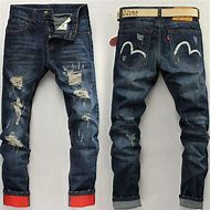 Denim Jeans Pants Men