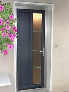 Installateur de porte d39entree pvc aluminium isolante for Porte d entrée pvc en utilisant fenetre pour porte d entrée pvc