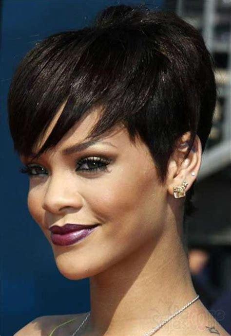 short hairstyles  bangs  black women short