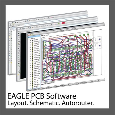 eagle pcb software  personal license  cadsoft