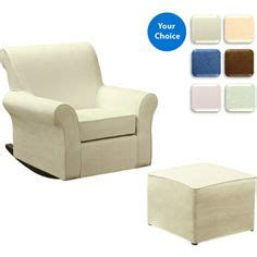 the land of nod daryl classic upholstered rocking chair in upholstered seating