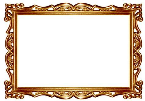 Gold Frame Border Clip Art