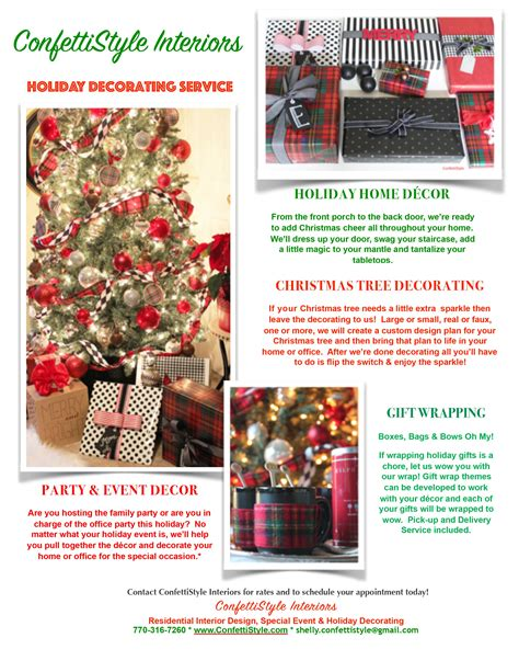 christmas decor archives page    confettistyle