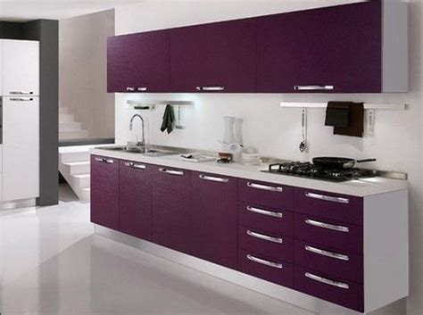 cuisine blanc et violet violet cuisine