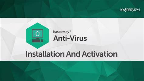 install kaspersky  activation code   cddvd