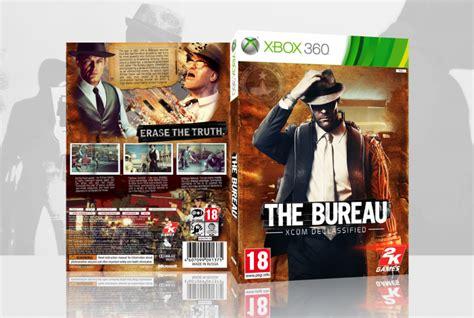 the bureau xcom declassified xbox 360 box cover by fergana16