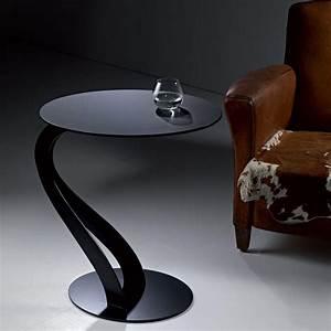 bouts de canapes tables et chaises bout de canape tom With tapis chambre bébé avec bout de canapé en verre design