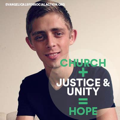 Brandon Meme - church justice unity hope evangelicals for social action