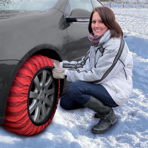 chaussette neige