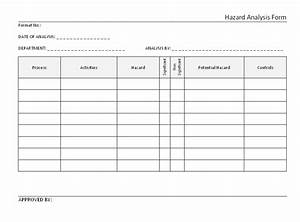 Process Hazard Analysis Template