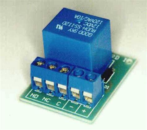 Simple Pcb Relay Board Kit Electronic Kits