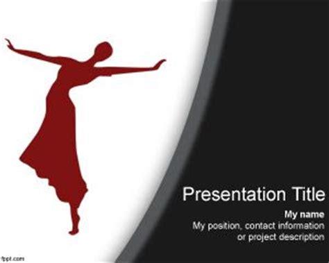 dancing powerpoint template
