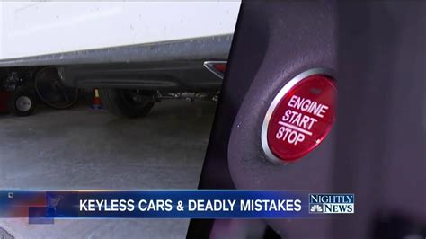 The Hidden, Potentially Deadly Dangers Of Keyless Car