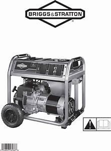 Briggs  U0026 Stratton Portable Generator 30469 User Guide