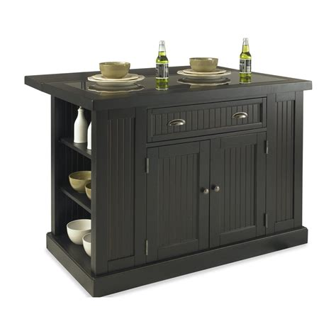 black island kitchen home styles 5033 94 nantucket kitchen island in sanded and