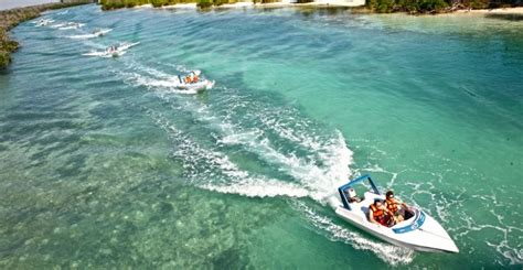 Speed Boat Tours by Speedboat Jungle Tour Olympus Tours Cancun