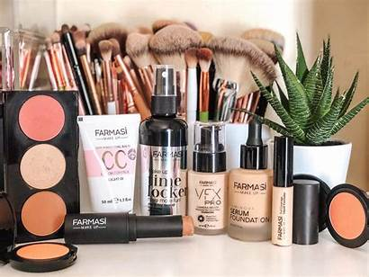 Farmasi Makeup Cosmetics Lkol Mascara Usa Lip