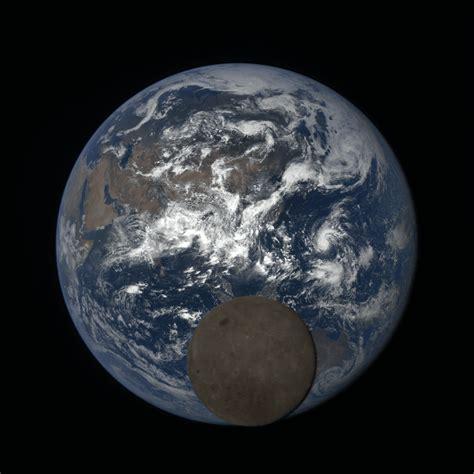 Earth The Far Side Moon Seen Dscovr
