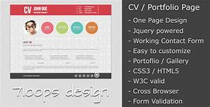 20 free resume cv html website templates and layouts for Free resume building websites