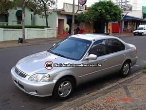 Carro Usado Da Semana  Honda Civic Lx 2000