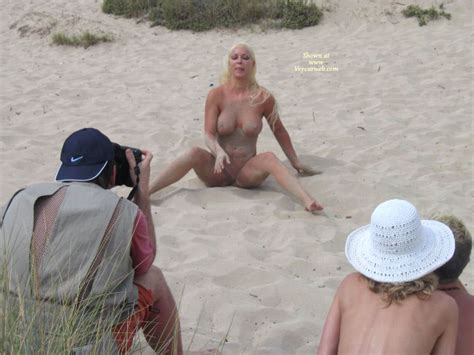 Nude Pose On The Sand July Voyeur Web Hall Of Fame