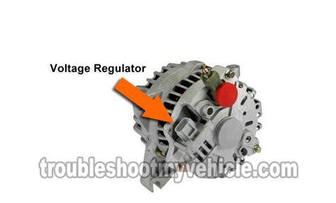part    test  alternator ford