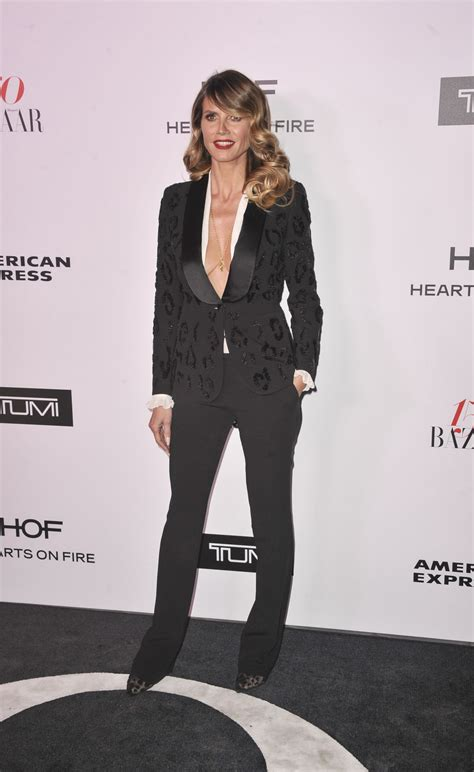 Heidi Klum Harper Bazaar Most Fashionable Woman