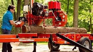 Wood-mizer Lt35 Manual Portable Sawmill