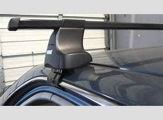 1996 to 2000 Honda Civic 4 Door with Thule 480 Traverse