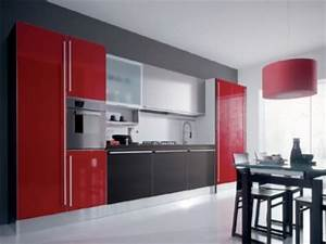 modern kitchen cabinets these modern kitchen cabinets With what kind of paint to use on kitchen cabinets for red metal art wall decor