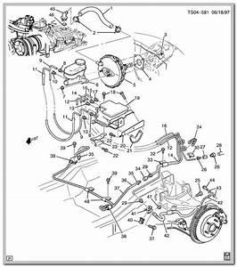 Chevy S10 Brake Line Diagram