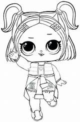 Lol Coloring Dolls Pages Print sketch template