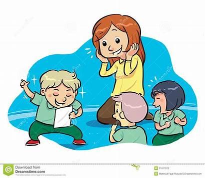 Teacher Clip Writing Reading Clipart Clipartpanda Children