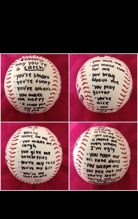 gift idea baseball boyfriend baseball girlfriend