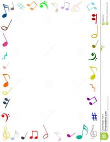 Music Notes Borders and Frames