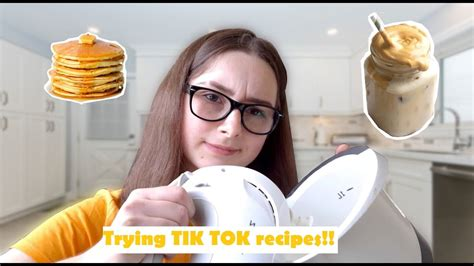 You mean to tell me that people are fluffing their coffee? Trying famous TIK TOK recipes!!! *whipped coffee, fluffy pancakes* #2 - YouTube