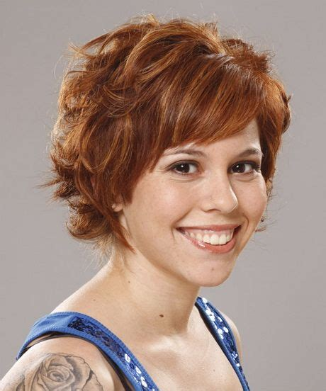 easy short curly hairstyles for women over 50 short wavy