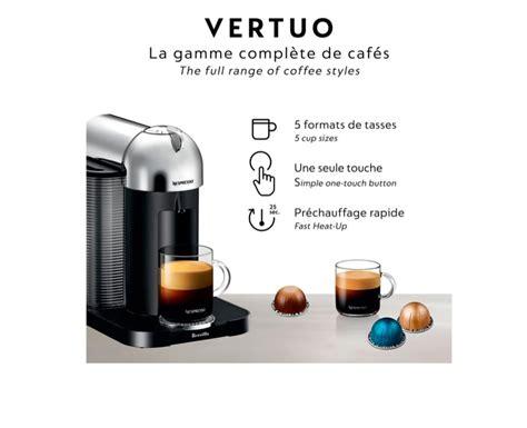 Completely open the slider and close the slider. Nespresso Vertuo Coffee Espresso Machine by Breville, Matte Black