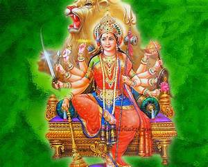 Goddess Durga Devi images wallpapers | wallpaper1download