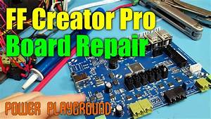 Flashforge Creator Pro Repairs   Heated