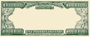 best photos of template of dollar bill to insert picture With million dollar bill template