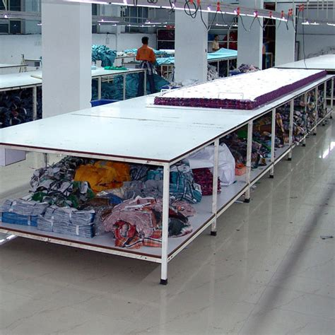 commercial fabric cutting table cutting tables manufacturer supplier in delhi india