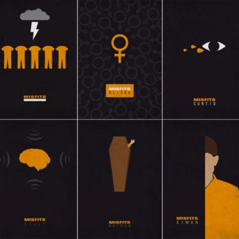 minimalist tv misfits tv show minimalist poster nerdy things pinterest misfits tv shows and tv
